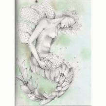 Pintuck Mermaid